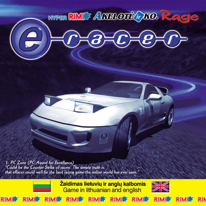 e-racer zaidimas