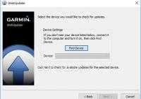 WebUpdater for Garmin