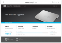 Samsung Magician nuotrauka